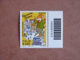 []1037)  Italia 2010  EUROPA Libri Per L´infanzia Geronimo Stilton - Codice A Barre - Codici A Barre