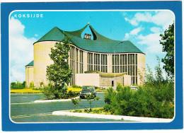 Koksijde: SIMCA 1300, CITROËN DS - Kerk O.L. Vrouw Ter Duinen - Eglise N.D. Des Dunes - Coxyde Bains -  (B) - Toerisme