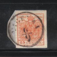 W1563 - LOMBARDO VENETO , Il 15 Cent Usato - Lombardo-Veneto
