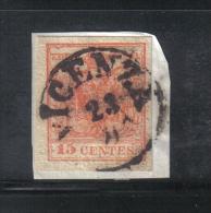 W1565 - LOMBARDO VENETO , Il 15 Cent Usato - Lombardo-Veneto
