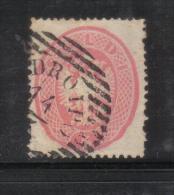W1610 - LOMBARDO VENETO , Il 5 Soldi N. 38 Usato. Dent 14 - Lombardo-Veneto
