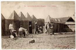 Valras Plage - Les Cabines (baigneurs) - France