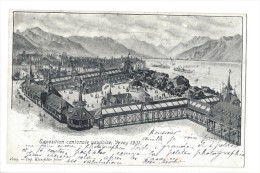 10072 - Exposition Cantonale Vaudoise Vevey 1901 - VD Vaud