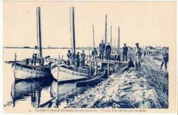Valras Plage - Vue Du Port Des Barques De Pêche - France