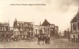 PK Dendermonde - Termonde - Grand Place - Oorlog 1914 - 1918 - Dendermonde