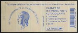 FRANCE CARNET De 10 Timbres à Composition Variable Neufs** N° 1513 - - Carnets
