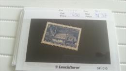 LOT 217894 TIMBRE DE FRANCE NEUF** N�430 VALEUR 37 EUROS