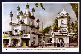 Sri Lanka. Colombo. *Mohammedan Mosque. Cinnamon Gardens* Nueva. - Sri Lanka (Ceilán)