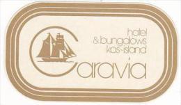 GREECE KOS ISLAND CARAVIA HOTEL &amp amp  BUNGHALOWS VINTAGE LUG