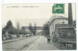 CPA -Liancourt - Avenue Du Chemin De Fer - Liancourt