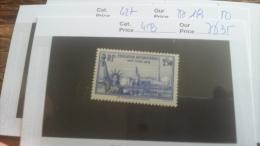 LOT 217983 TIMBRE DE FRANCE NEUF** N�458 VALEUR 35 EUROS