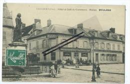 CPA -Liancourt - Hôtel Et Café Du Commerce - Maison MOULENE - Liancourt