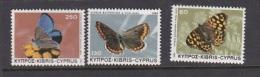 Cyprus 1983 Butterrflies Set MNH - Unclassified
