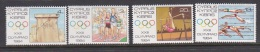 Cyprus 1984 Olympic Games Set MNH - Unclassified