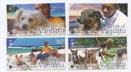 VANUATU ; SCOTT # ; IGPC 1301 CO ; MINT N H STAMPS ( DOGS - Vanuatu (1980-...)