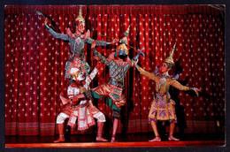 *Khon, A Masked Play, Thai Classical Dance* Circulada 1978. - Tailandia