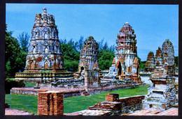 Ayudhya. *Ruins Of Phra Mahathat In Ayudhya...* Nueva. - Tailandia