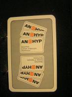 Playcard - 3  Dos De Carte A Jouer,avec Publicitè - An-Hyp -  Bank, Spaarkas, Caisse D'épargne - Cartes à Jouer
