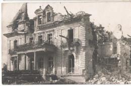 ARM-10 - CPA Photo Maison Détruite Guerre 14/18 - Feldpost - Weltkrieg 1914-18