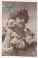 CPA Fantaisie - Femme - Lady - Frau - Portrait - Femmes