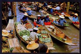 *Floating Markets At Dammonsaduok...* Nueva. - Tailandia