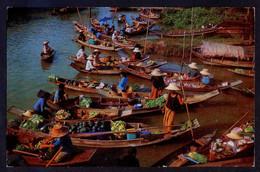*Wad Sai Floating Market, Dhonburi...* Nueva. - Tailandia