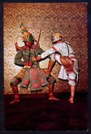 *Masked-Actors Playing Khon...* Nueva. - Tailandia