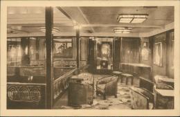 PAQUEBOTS - Compagnie Maritime Belge, Anvers-Congo - Un Salon De Musique (Editeur NELS) - Dampfer