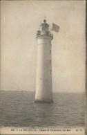 17/LA ROCHELLE, Phare De Chauveau, En Mer (Marcel Delboy, Phototypie Bordeaux) - La Rochelle