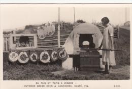 Real Photo - Gaspé Gaspésie Québec Canada - Outdoor Bread Oven - Pain & Tapis - Cooking - B.O.B. - VG Condition - Gaspé