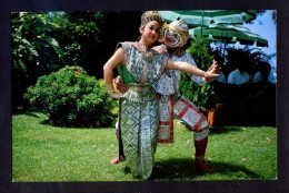 Bangkok. *Story Of Ramayana, Hanuman Wooing His Wife...* Circulada 1985. - Tailandia