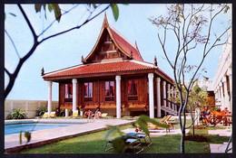 Bangkok. *Sala Thai...* Ed. Indra Regent Hotel, Bangkok. Circulada 1977. Roce Al Dorso. - Tailandia