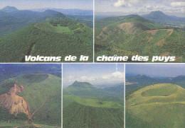 Ph-CPM Volcans De La Chaîne Des Puys (Puy De Dôme) Multivues - Frankreich