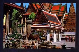 Bangkok. *Inside Of The Emerald Buddha...* Nueva. - Tailandia