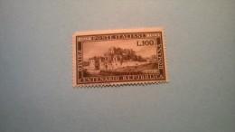 Italia- 1949 Centenario Repubblica Romana - 100 Lire - 1946-.. Republiek