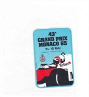 Marlboro Monaco 1985 - Automovilismo - F1