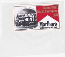 Marlboro James Hunt 1976 - Automovilismo - F1