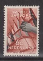 NVPH Nederland Netherlands Pays Bas Niederlande Holanda 294 MLH ; Padvinderij, Scouting, Scoutisme, Scoutismo 1937 - Periode 1891-1948 (Wilhelmina)