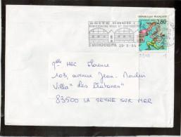 SEUL / LETTRE 2840  38  ST MARTIN D'HERES - Marcophilie (Lettres)