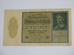10 000 Zehntaufend Mark 1922 -  Reichsbanknote - Germany - Allemagne **** EN ACHAT IMMEDIAT **** - [ 3] 1918-1933 : République De Weimar