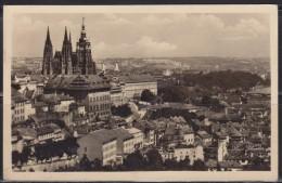 5719. Czechoslovakia, 1956, Prague Castle, Postcard - Tchéquie