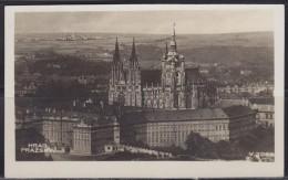 5722. Czechoslovakia, 1931, Prague Castle, Postcard - Tsjechië