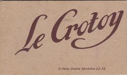 80 - Le Crotoy - Carnet Incomplet 11 Cartes(manque 1...) - Le Crotoy