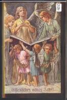 BONNE ANNEE - ANGES - SCENE BIBLIQUE - TB - Anno Nuovo
