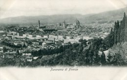ITALY - Florence - Firenze - Panorama Di Fienze - Firenze (Florence)