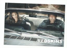 CPM Publicitaire, Redskins Vêtements Homme Femme, Love Stories Since 1984, David Duchovny, Los Angeles 2012f - Moda