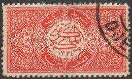 ARABIE SAOUDITE - Demi Pi. De 1916 Oblitéré - Arabie Saoudite