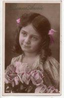 ENFANT . PORTRAIT FILLETTE . BONNE ANNÉE - Réf. N°2093 - - Portraits
