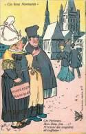 Ces Bons Normands «Ces Parisiens... N'ont Ils Pas Des Magnères De S'affubler.» Non Voyagée - Humour