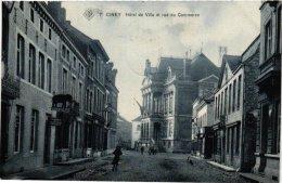 NAMUR    6 CP Ciney   Rue Du Commerce 1909 Château St Roch Place  Forges Château Bormenville Place Monseu - Ciney
